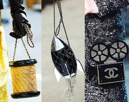 Lagerfeld miał niebywałą wyobraźnię... Oto 10najoryginalniejszych torebek jego projektu