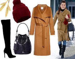 Pokochacie ten zimowy look Agnieszki Radwańskiej!