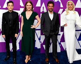 Lady Gaga, Rachel Weisz i Paweł Pawlikowski, czyli gwiazdy na uroczystej kolacji przed Oscarami