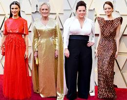 Oto kreacje nominowanych do Oscara aktorek na czerwonym dywanie!