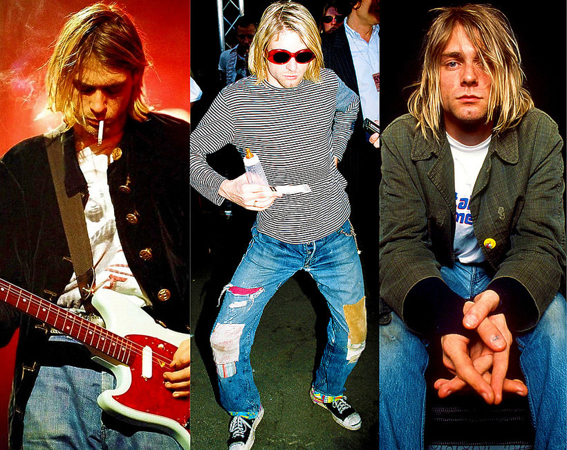 c532aab6e184 Wpływ Kurta Cobaina na modę  styl grunge