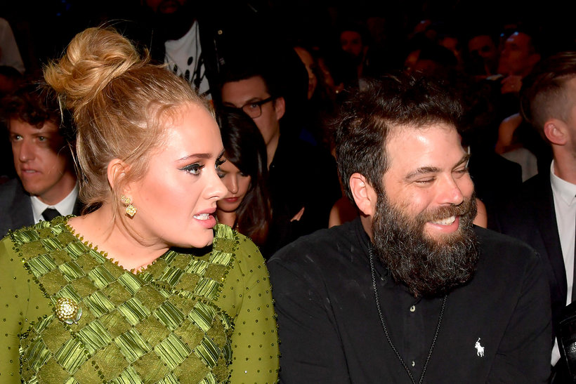 Adele, Simon Konecki, The 59th GRAMMY Awards 2017