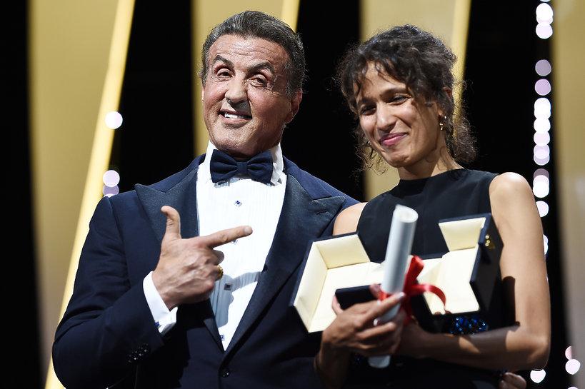 Sylvester Stallone wręczał nagrodę Mati Diop, otrzymała Grand Prix, drugi co do ważności laur festiwalu