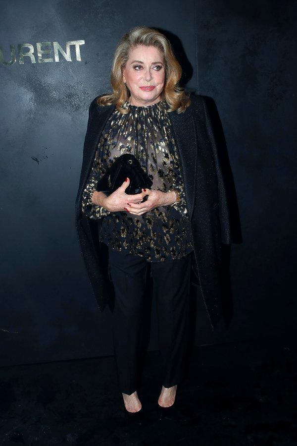 goście Paris Fashion Week SS 2020, Catherine Deneuve