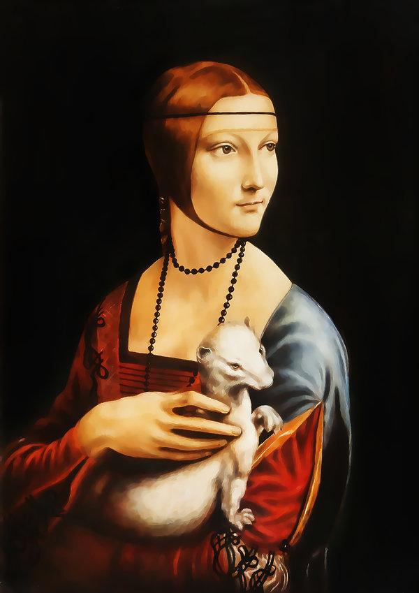 Dama z łasiczką - Leonardo da Vinci