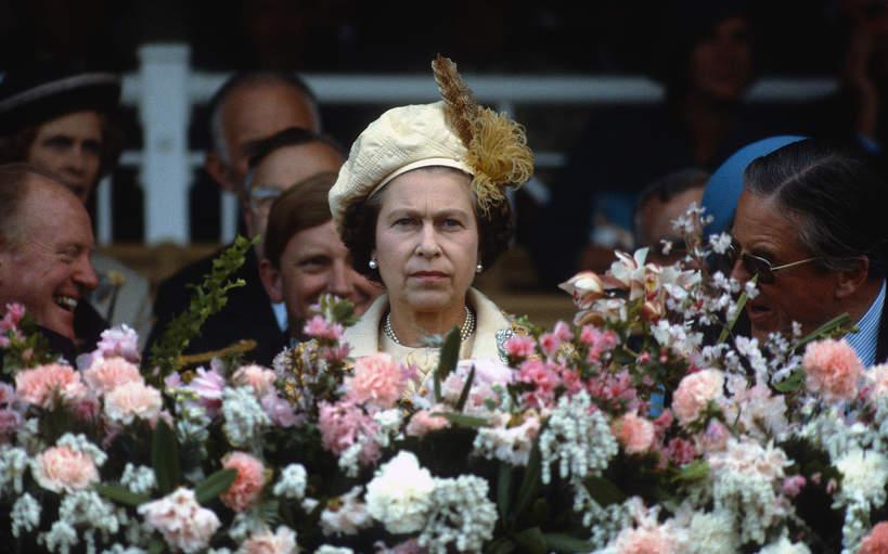 Królowa Elżbieta II, Melbourn, Australia, 1981 rok