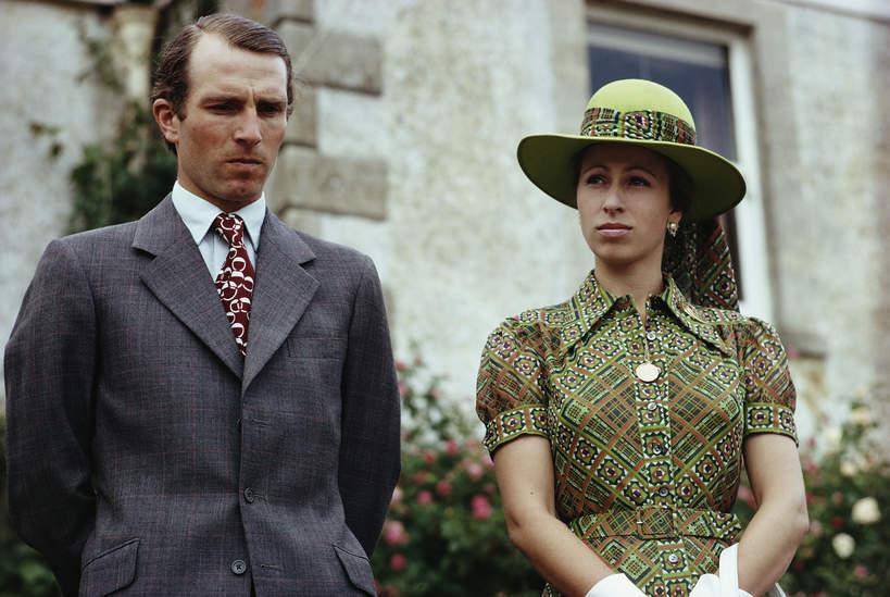 Księżniczka Anna, Mark Phillips