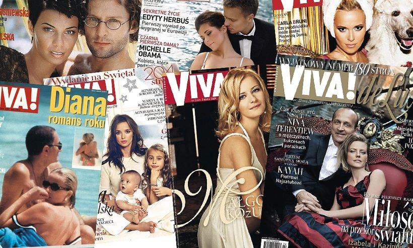 18 najgłośniejszych okładek Vivy. Wszystkie okładki Vivy!