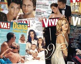 Były nagie pary, Big Brother, żony i córki głów państwa, ciąże, dzieci. 19 kultowych okładek VIVY!