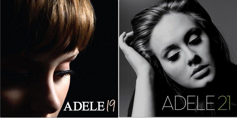19 i 20 - dwie płyty Adele