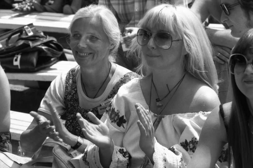 1977-06-01. Krajowy Festiwal Piosenki Polskiej w Opolu, Agnieszka Osiecka, Maryla Rodowicz