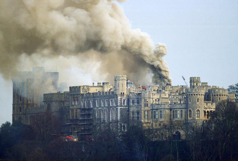 1992: pożar w WIndsorze