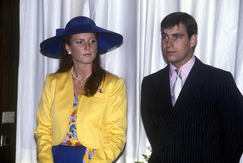 1992 rok: separacja Andrzeja i SArah