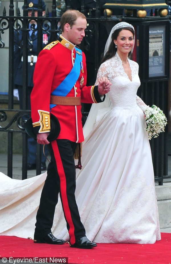 29.04.2011 Książę William i Kate Middleton wzięli ślub