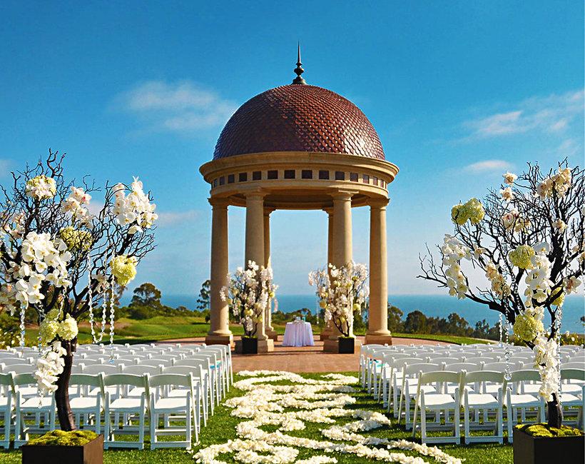 5 najpiękniejszych miejsc, w których gwiazdy biorą ślub
