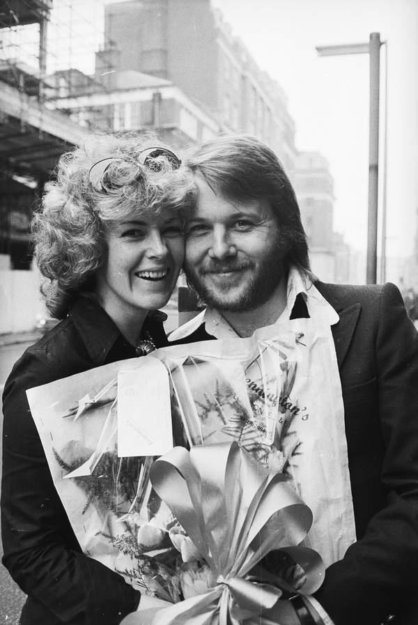 ABBA,  1974: Anni-Frid Lyngstad iBenny Andersson