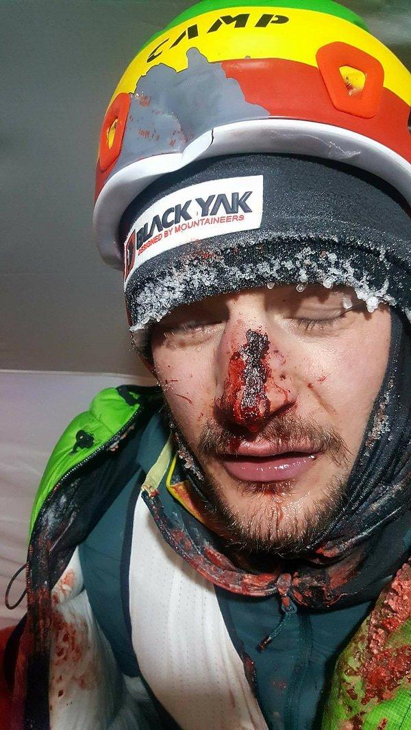 Adam Bielecki miał wypadek