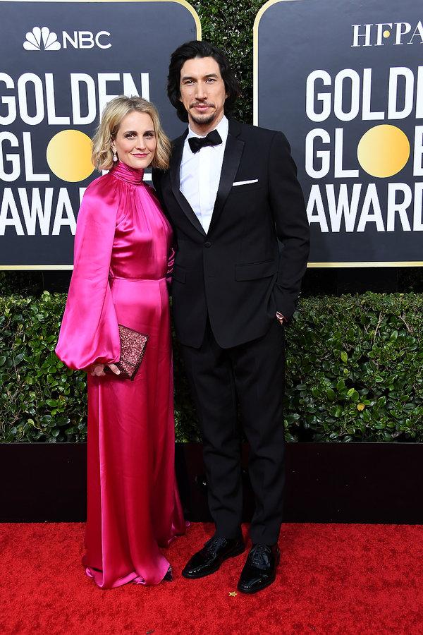 Adam Driver, Joanne Tucker, Złote Globy 2020