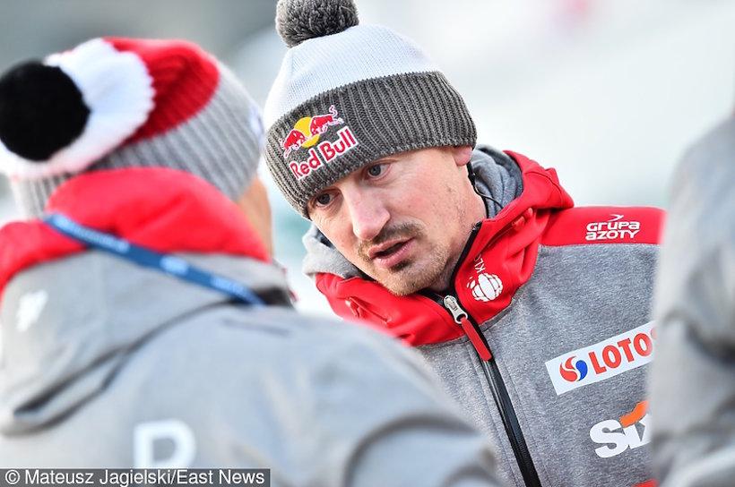 Adam Małysz w Zakopanem podczas konkursu skoków narciarskich
