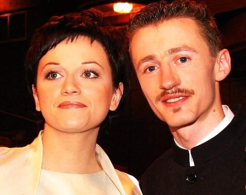 Adam Małysz z żoną, Izabela Małysz, 2004 rok
