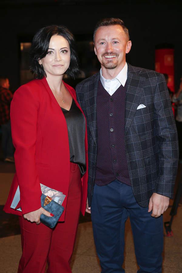 Adam Małysz z żoną, Izabela Małysz, 2019