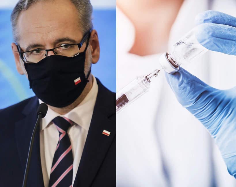 Adam Niedzielski, szczepionka, koronawirus