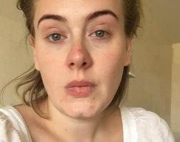 Adele bez makijażu