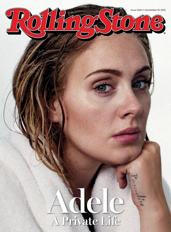 Adele na okładce Rolling Stone