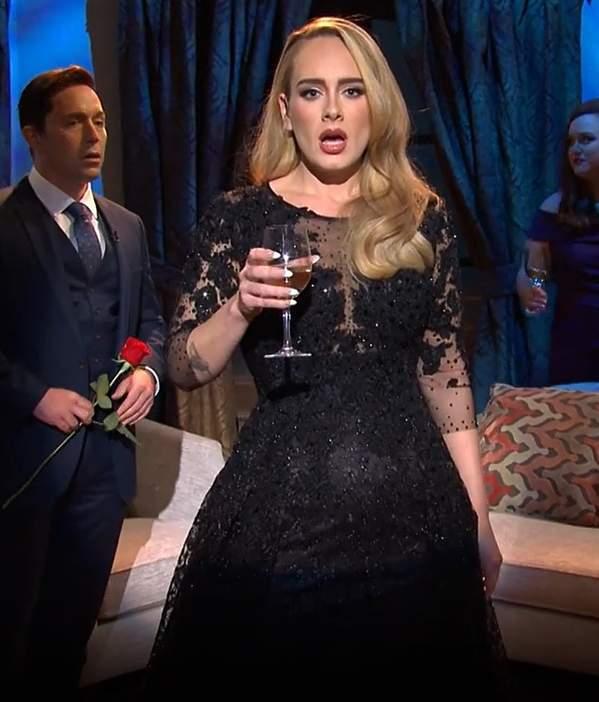 Adele spiewa na zywo po metamorfozie