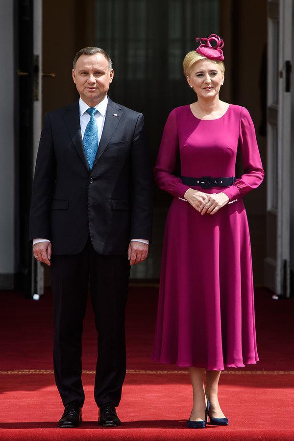Agata Duda, Andrzej Duda, księżna Kiko