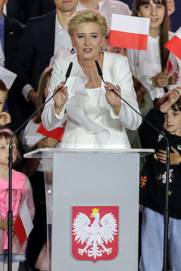 Agata Duda, Wybory 2020