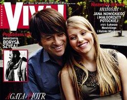 Agata i Piotr Rubikowie na okładce magazynu Viva!