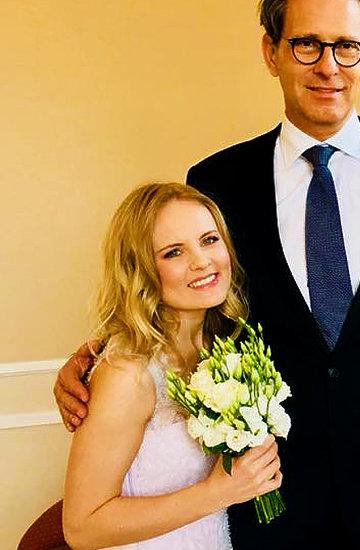 Agata Młynarska, Sylwia Mor, ślub