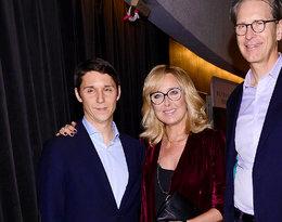 Agata Młynarska na premierę filmu o swoim tacie przyszła razem z synami! Zobacz, jak teraz wyglądają Stanisław i Tadeusz