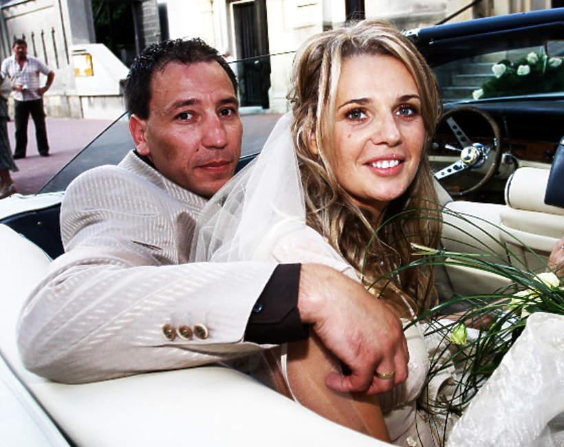 Agata Mróz i Jacek Olszewski, ślub, 2007 rok