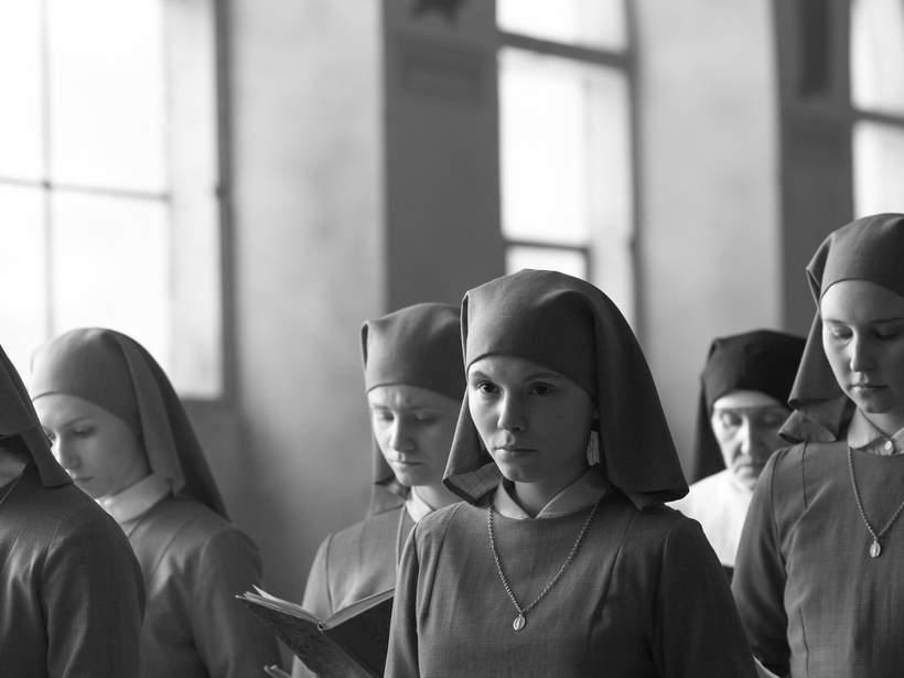 Agata Trzebuchowska w filmie Ida