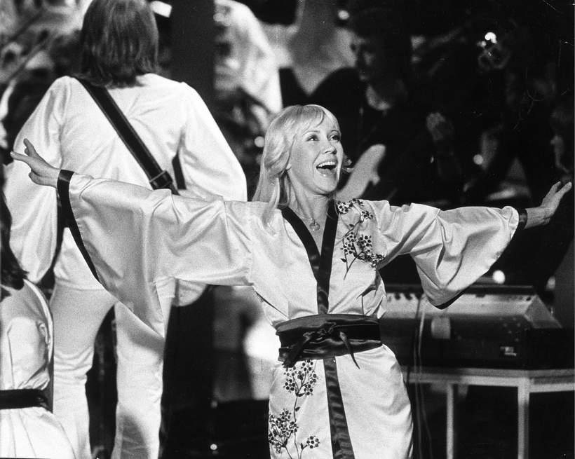 Agnetha Faltskog, ABBA, 1 sty 1976