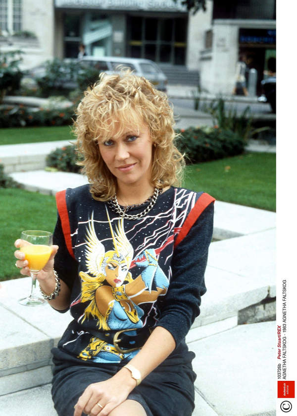 Agnetha Faltskog, ABBA, 1983 rok