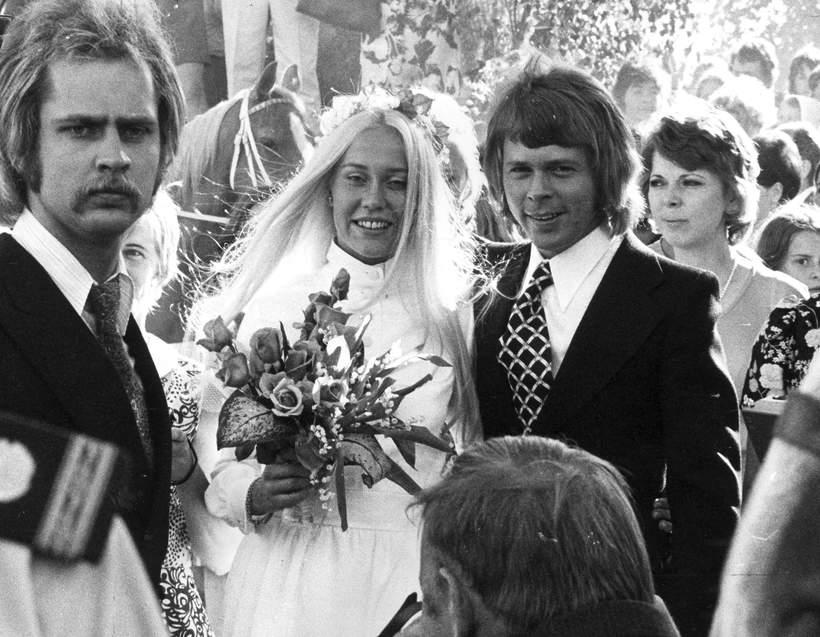 Agnetha Faltskog, Bjorn Ulvaeus ślub, 1971 rok