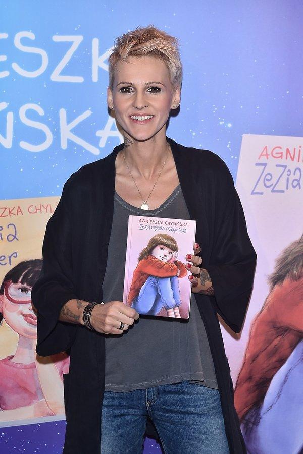 Agnieszka Chylińska, książka