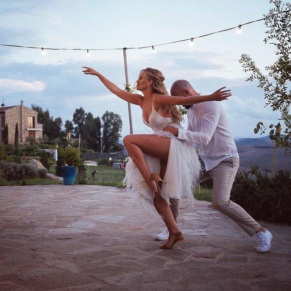 Agnieszka Kaczorowska i Maciej Pela, pierwszy taniec