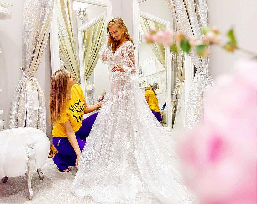 Suknie ślubne Agnieszki Kaczorowskiej Od Violi Piekut Projektantka