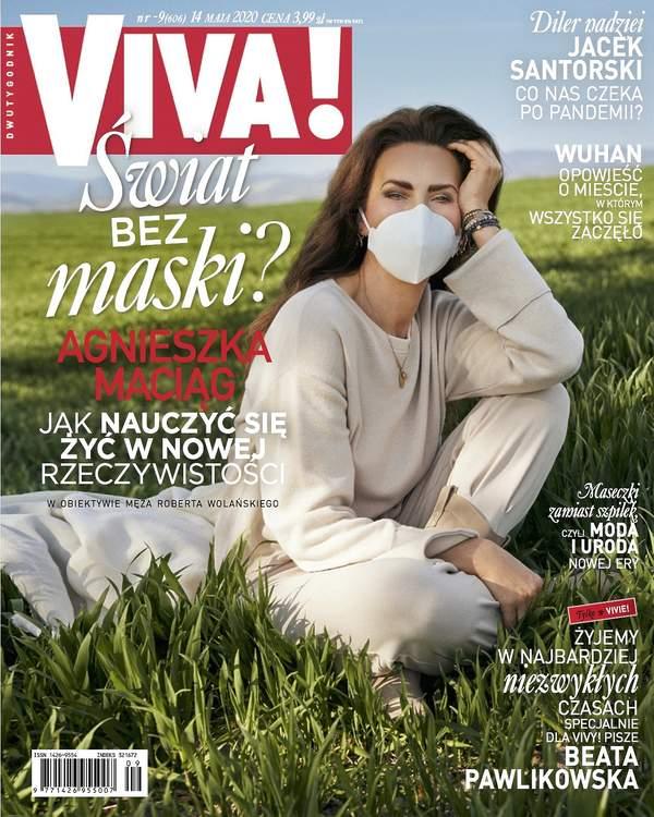 Agnieszka Maciąg, VIVA 9/2020, okładka