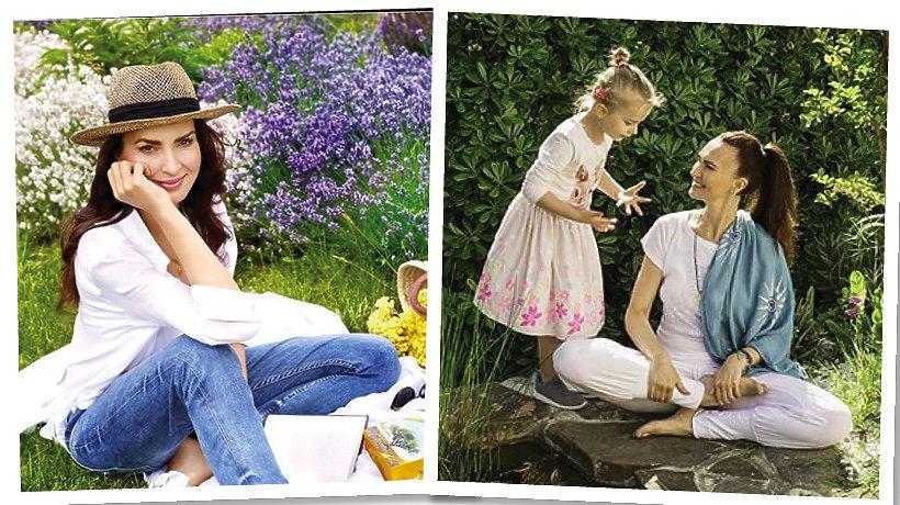 Agnieszka Maciąg z córką