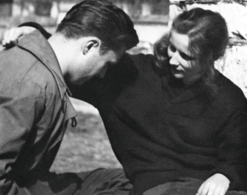Agnieszka Osiecka i Marek Hłasko