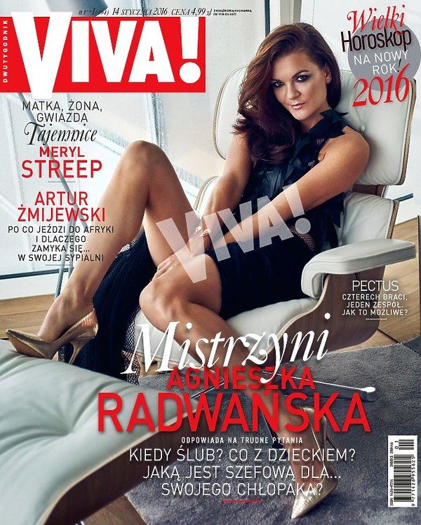 Agnieszka Radwańska na okładce Vivy!