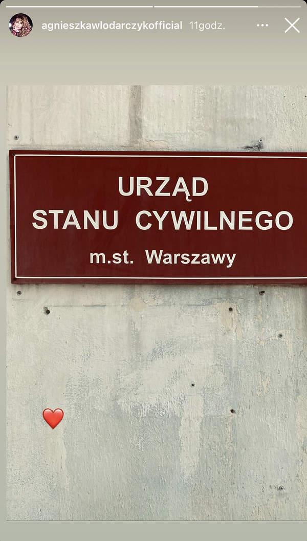 Agnieszka Włodarczyk wzięła ślub?