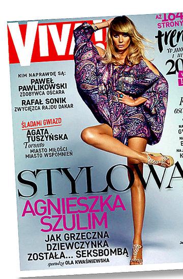 Agnieszka Woźniak-Starak na okładkach VIVY!