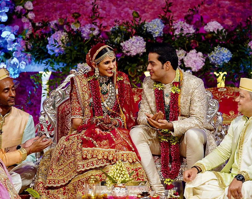 Akash Ambani, indyjski miliarder, ślub
