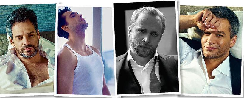 Aktorzy po 40-tce: Paweł Deląg, Marcin Dorociński, Piotr Adamczyk, Michał Żebrowski